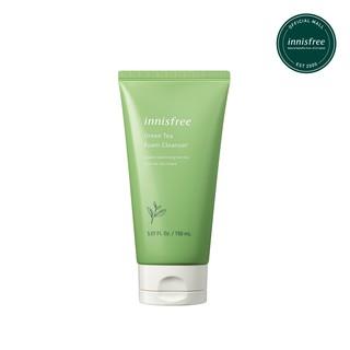 Sữa rửa mặt làm sạch innisfree Green Tea Foam Cleanser 150ml