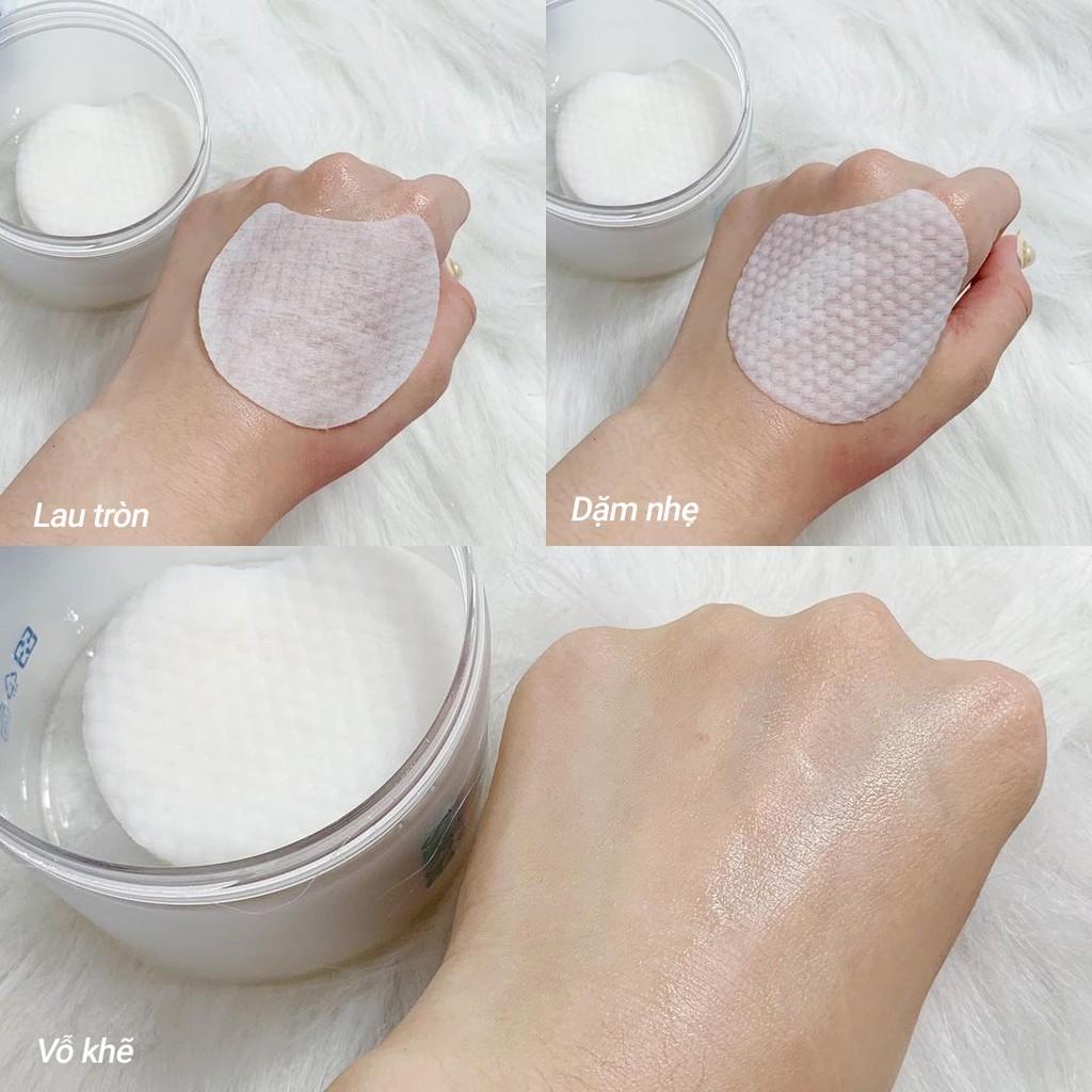 Bông MKUP tẩy tế bào chết chứa AHA/BHA làm sạch lỗ chân lông