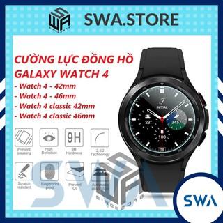 Dán màn hình cường lực đồng hồ Samsung Galaxy Watch 4 và Watch 4 classic 42mm 46mm, SWASTORE thumbnail
