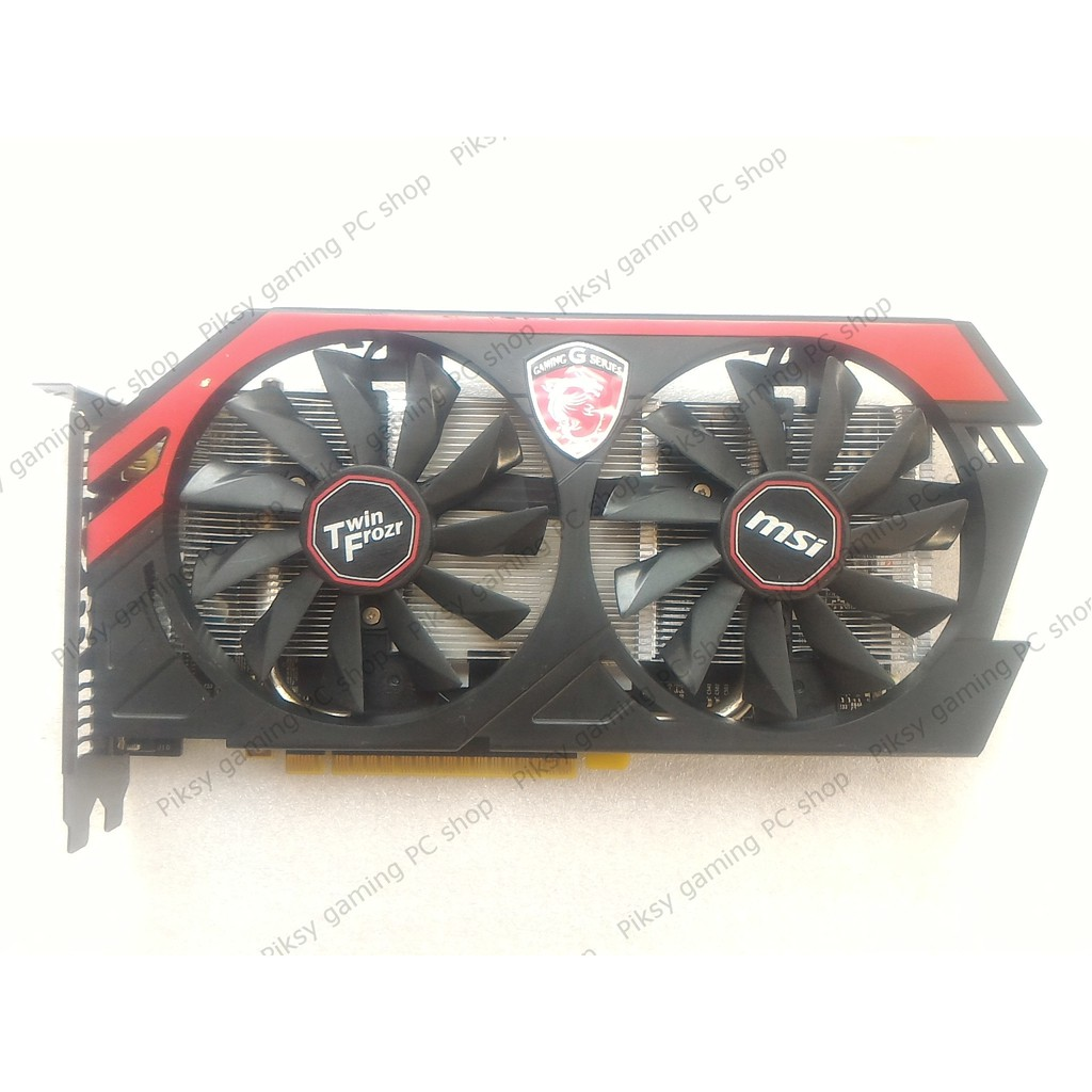 Card màn hình MSI GeForce GTX 750 Gaming 1GB GDDR5