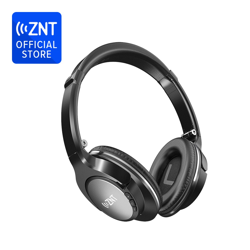 ZNT Tai nghe chụp tai không dây kết nối bluetooth âm thanh HiFi thiết kế gấp gọn được