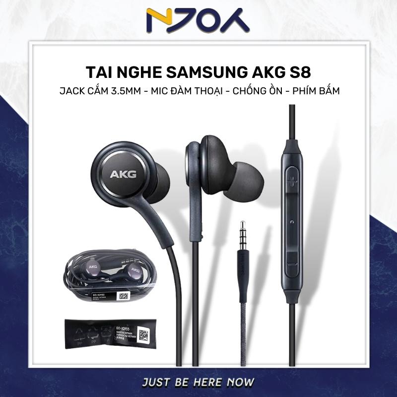 [FULL BOX] TAI NGHE AKG S7 S8 S10 MADE IN VIETNAM (KÈM BỘ NÚM) / TAI NGHE SAMSUNG
