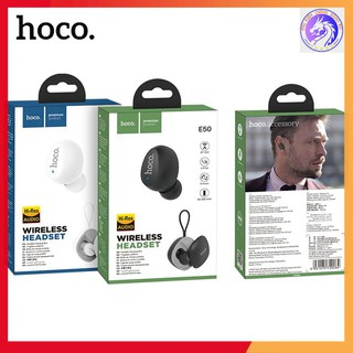 [Mã ELFLASH5 giảm 20K đơn 50K] Tai Nghe Bluetooth 1 Bên TWS V5.0 Mini Hoco E50 Wise Có Mic - Có Hộp Sạc - Chính Hãng