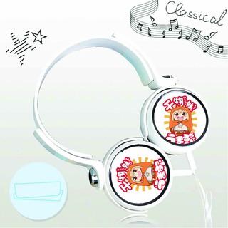 Tai nghe Himouto! Umaru-chan - Cô Em Gái Hai Mặt thiết kế thông minh cá tính cắm dây có mic anime chibi