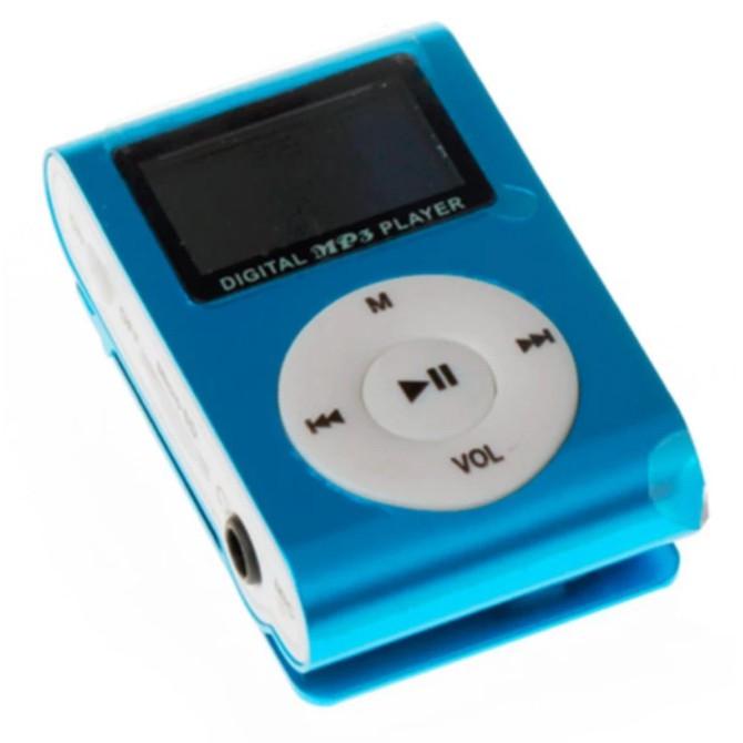 Máy nghe nhạc MP3(xanh dương) có màn hình LCD kiểu kẹp + cáp sạc + tai nghe - 9946958 , 421101116 , 322_421101116 , 52000 , May-nghe-nhac-MP3xanh-duong-co-man-hinh-LCD-kieu-kep-cap-sac-tai-nghe-322_421101116 , shopee.vn , Máy nghe nhạc MP3(xanh dương) có màn hình LCD kiểu kẹp + cáp sạc + tai nghe