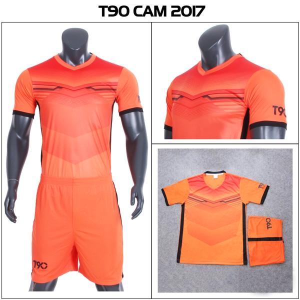 Bộ đồ đá banh T90 2017 CPSports (Cam)