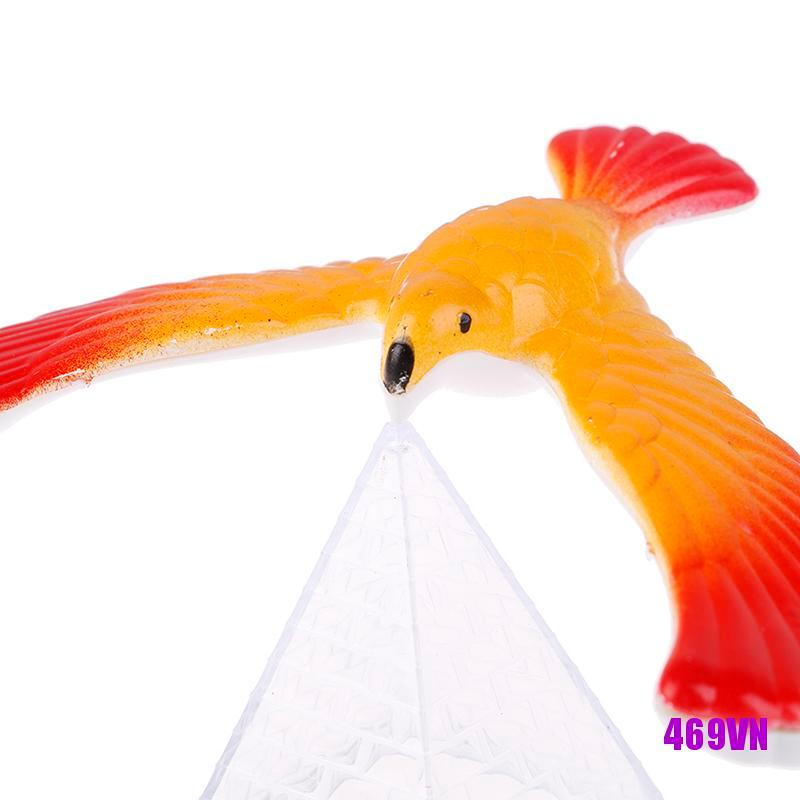 [SWE]1Set Balancing bird + pyramid magic physics science enlightenment kid toy gifts