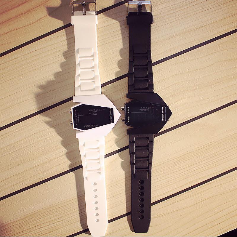 Đồng hồ thời trang nam nữ Led thể thao phi thuyền DH80 giá rẻ