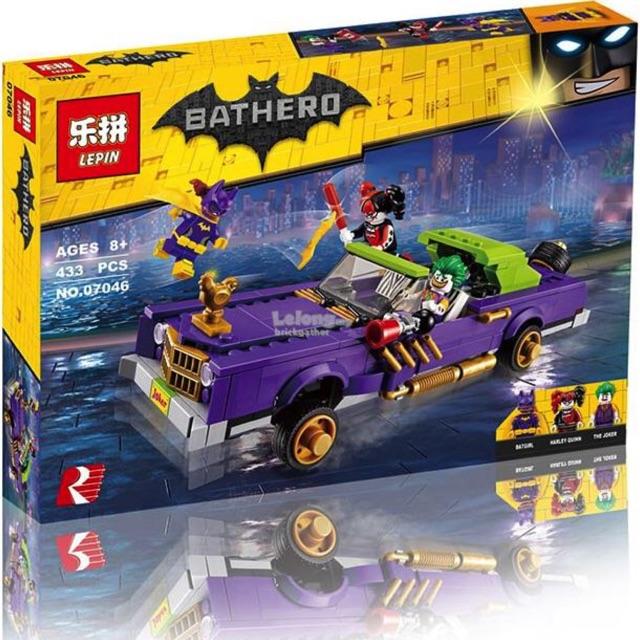 Lego super hero 07046- Cỗ xe của các chú hề Joker