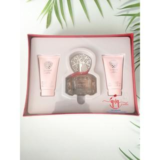 Set nước hoa Amore VINCE CAMUTO (gồm 1 sữa tắm 75ml, 1 dưỡng thể 75ml và 1 EDP 100ml) -USA