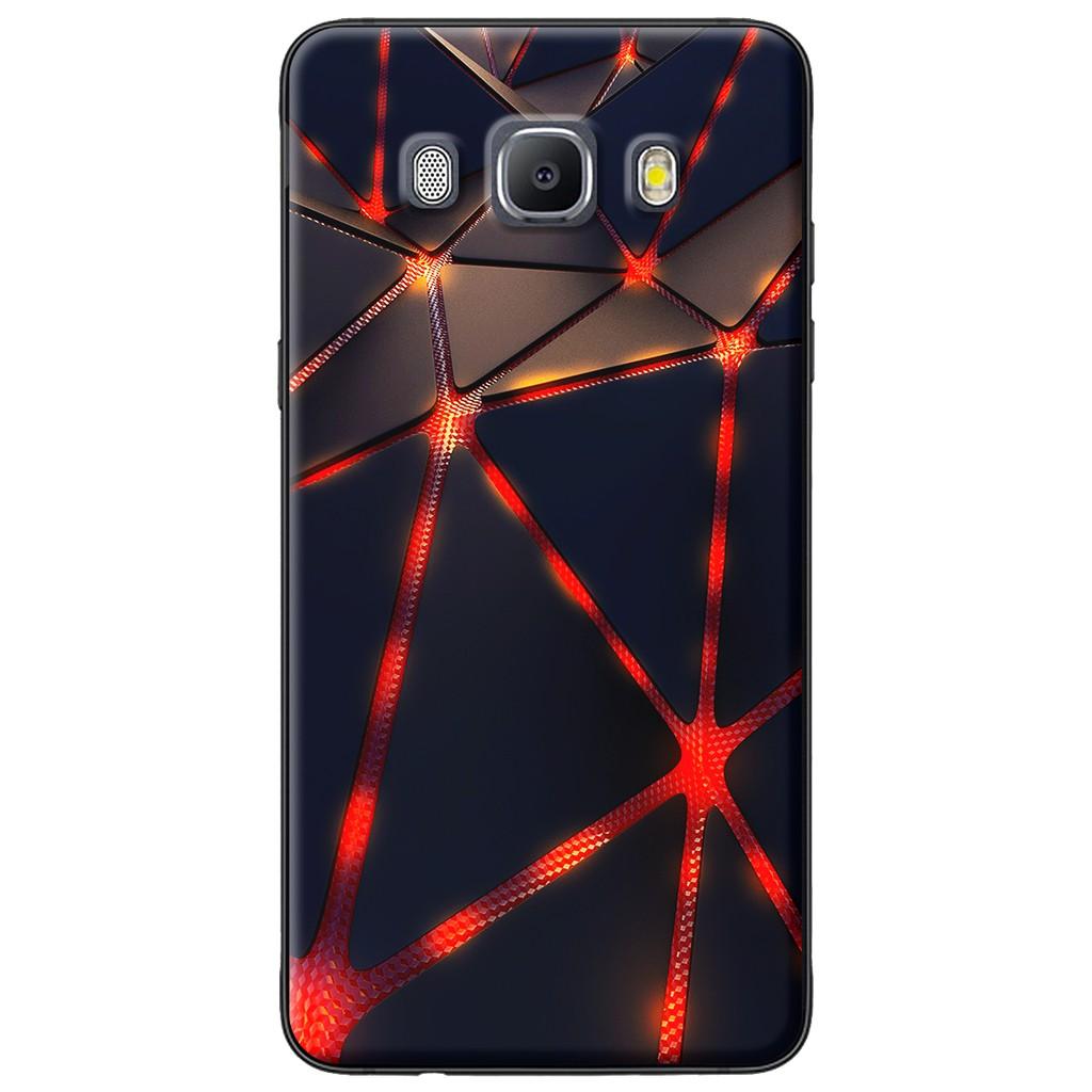 Ốp lưng Samsung J3,J5,J7 (2016), J2 Prime, G530 Tam giác đỏ đen