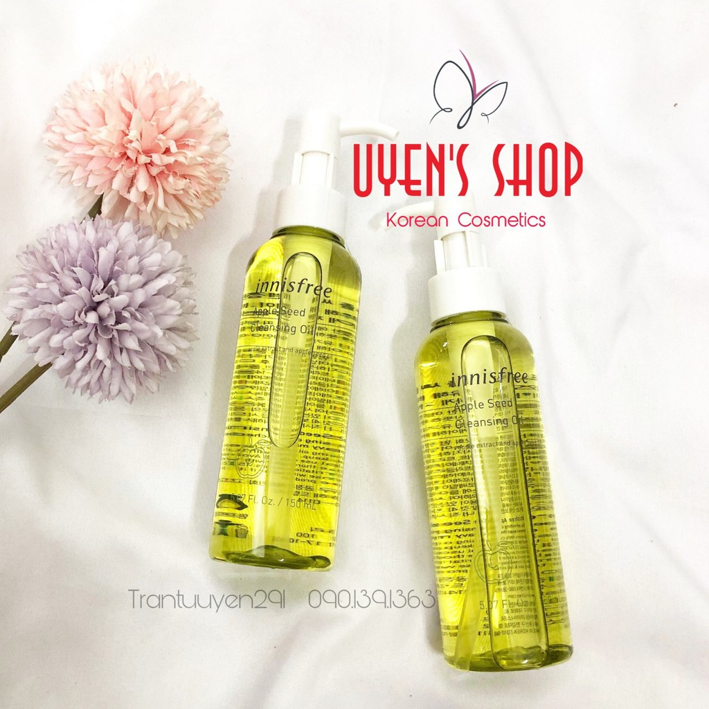 Dầu tẩy trang Innisfree Apple Seed Cleansing oil 150ml