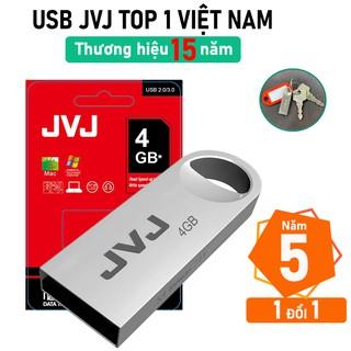 USB 4Gb JVJ S3 siêu nhỏ vỏ kim loại - tốc độ 25MB s Vỏ Kim Loại chống nước ổn định Bảo hành 5 năm chính hãng thumbnail