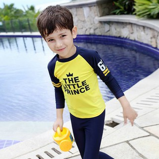 Bộ Đồ Bơi Dài Tay Cho Bé Trai