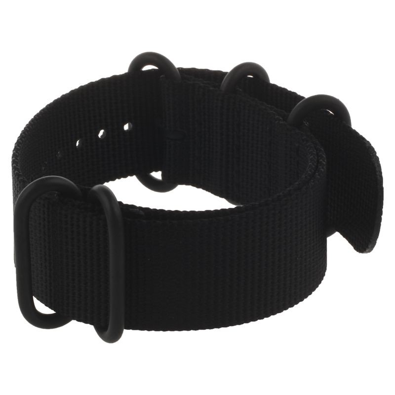 For Garmin Fenix 3 /HR Nylon Strap Wrist Watch Band Black