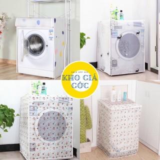 Bọc Máy Giặt Chống Thấm Cao Cấp Hàng Đẹp Chất Liệu Satin thumbnail