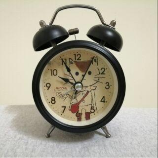 Đồng hồ 2 chuông size vừa có đèn kiểu dáng cổ điển vintage