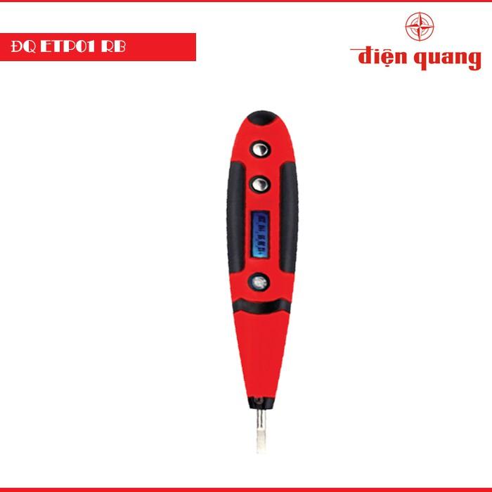 Bút Thử Điện Điện Quang ĐQ ETP01 RB (Hiển Thị LCD, Đỏ Đen) - 2666877 , 685676743 , 322_685676743 , 65000 , But-Thu-Dien-Dien-Quang-DQ-ETP01-RB-Hien-Thi-LCD-Do-Den-322_685676743 , shopee.vn , Bút Thử Điện Điện Quang ĐQ ETP01 RB (Hiển Thị LCD, Đỏ Đen)
