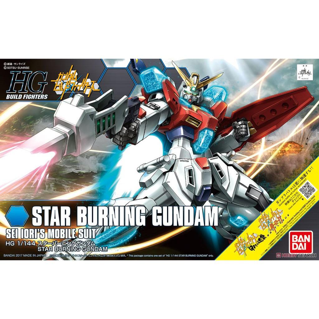 Mô hình Gundam HG BF Star Burning Gundam