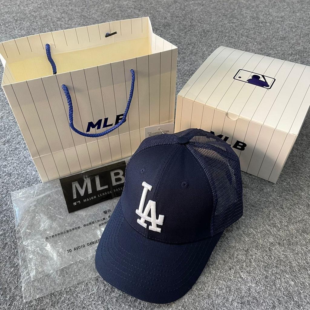 Mũ lưỡi trai MLB nhập khẩu chính hãng màu xanh Navy