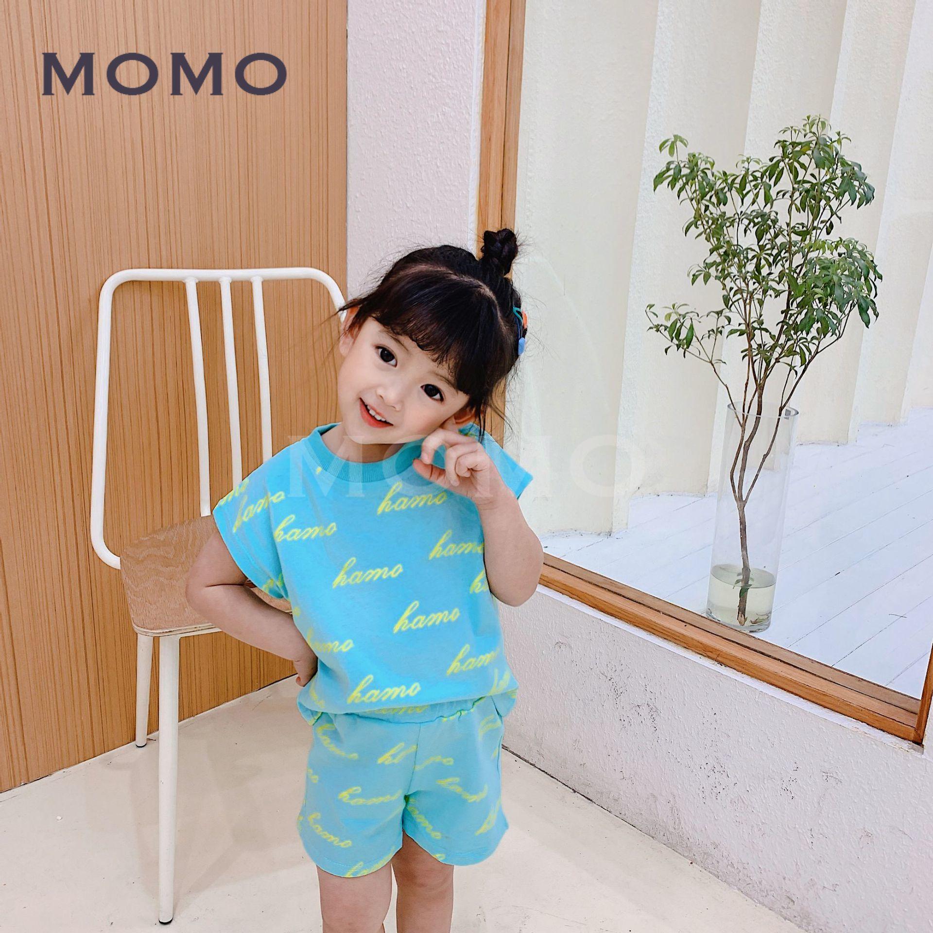 Set Áo Thun Tay Ngắn & Quần Short Cho Bé 1-8 Tuổi