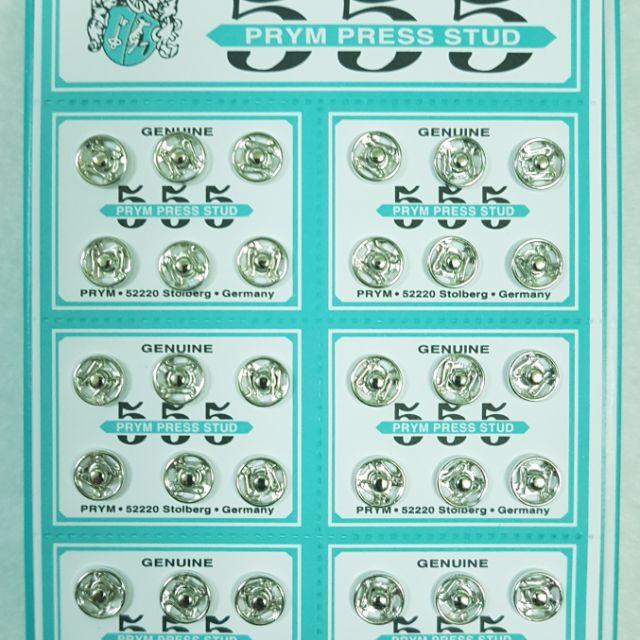 Nút bấm 555 màu trắng hàng cao cấp của Đức