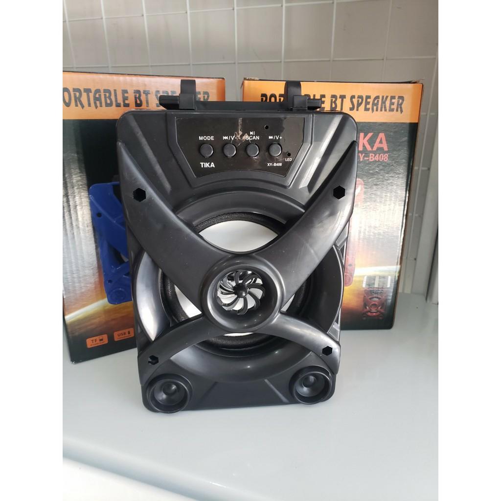 Loa Bluetooth Mini Loa xách tay Led bass cực hay giá rẻ YD-668 / Tika B408  VNET cao cấp