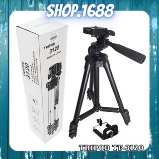 Gậy chụp ảnh 3 chân tripod tf – 3120 ,chân gắn máy ảnh, điện thoại chụp hình tự sướng selfie du lịch – shop1688