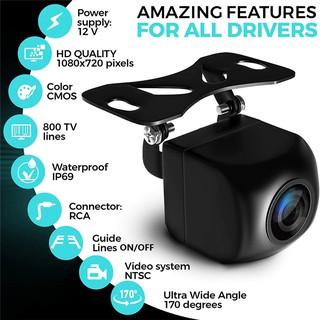 Camera Lùi AHD Len Mắt Cá góc rộng 170 độ, Camera De 1080p Cực Nét dành cho màn hình DVD Android thumbnail