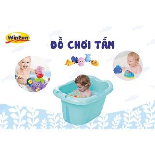 Đồ chơi tắm phun nước – Set 5 con Winfun 7120