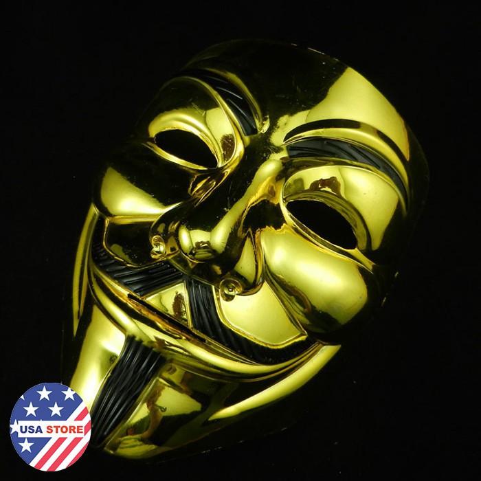 Mặt Nạ Mạ Bạc Vàng Hacker _hàng bao đẹp
