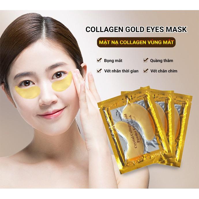 1 Cặp Mặt Nạ Mắt Collagen Pha Lê Chống Nếp Nhăn