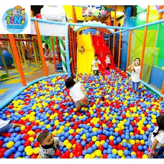Toàn Quốc [Voucher]-Vé vui chơi cho bé tại hệ thống Tini World