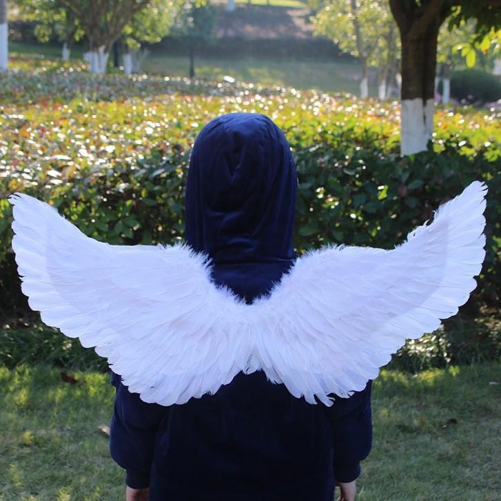 Đôi Cánh thiên thần cosplay màu trắng 40*15cm cho bé