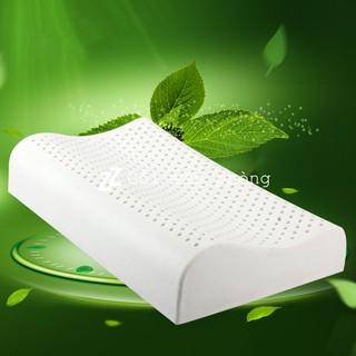 Yêu ThíchGối cao su thiên nhiên hàm lượng cao >90% hỗ trợ đau vai gáy, đốt sống cổ, chống ngáy