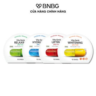 Combo 4 mặt nạ dưỡng da toàn diện BNBG Vita Genic Jelly Mask 30mlx4