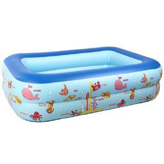 Bể bơi 2 tầng 1m2 có vỏ hộp
