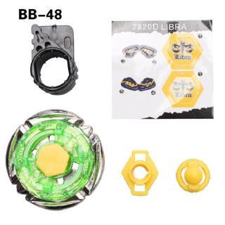 BB48 Green Plastic Fusion Beyblade Rock