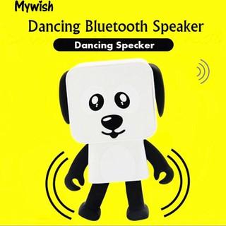 👶🏼Creative Mini Dancing Dog Robot Wireless Bluetooth Speaker USB Music Player
