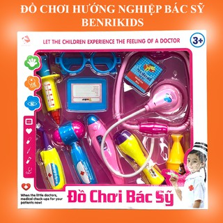 Hộp Đồ Chơi Bác Sỹ Long Thủy Bằng Nhựa An Toàn Cho Bé (Hàng Việt Nam)