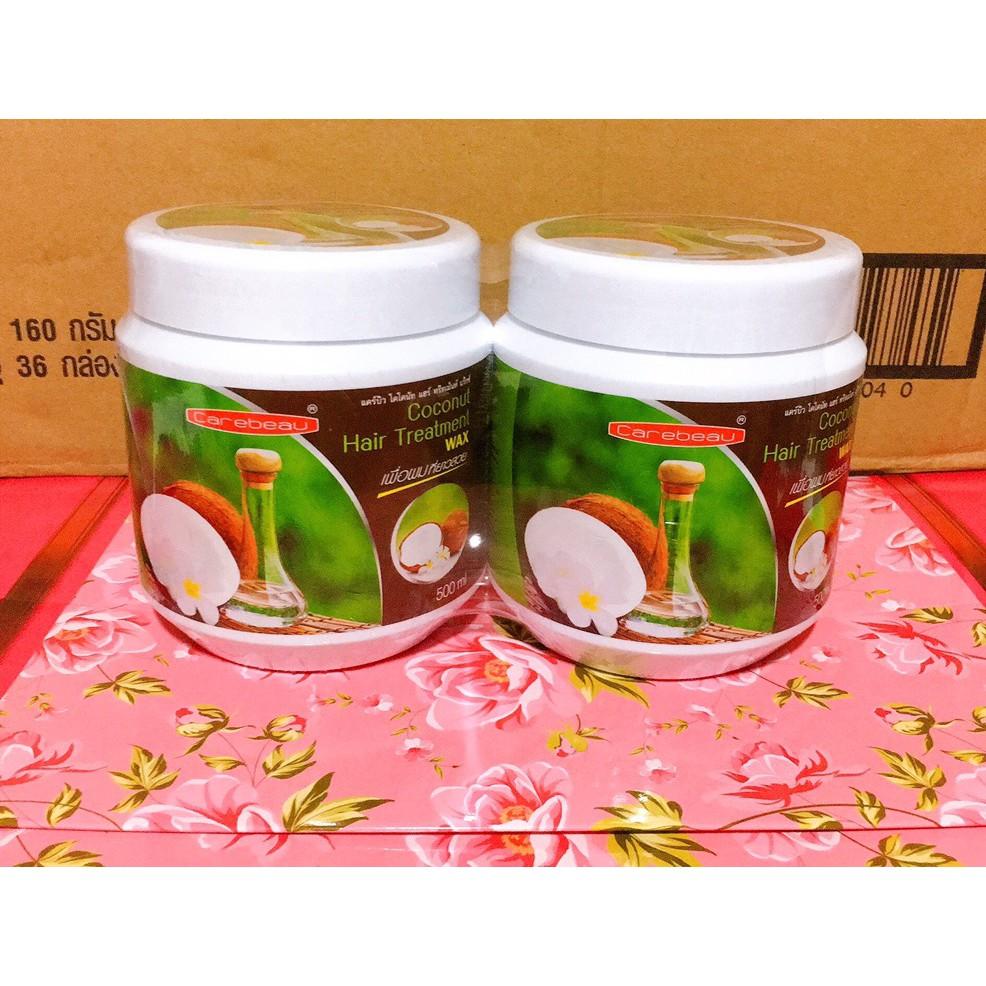 Kem ủ tóc dừa non COCONUT HAIR TREATMENT 500ml hàng Thái Lan chính hãng