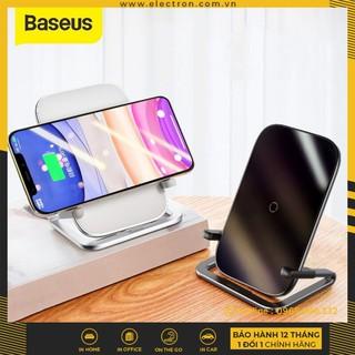 Đế sạc nhanh không dây Baseus Rib 15W cho iPhone/Samsung/ Xiaomi/ Oppo