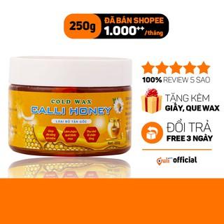 Wax Lông An Lành Calli Honey Was Tẩy Lông Nách Bikini Vĩnh Viễn tặng 50 giấy và 2 que wax – WCH