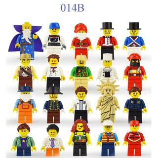 Lego nhân vật mini city combo 20 nhân vật