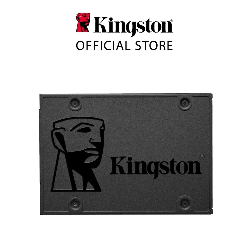 """[Mã ELCLDEC giảm 5% đơn 500K] Ổ cứng SSD Kingston A400 240Gb 2.5"""" SATA 3.0 6Gb/giây (SA400S37/240G) - Hàng chính hãng"""