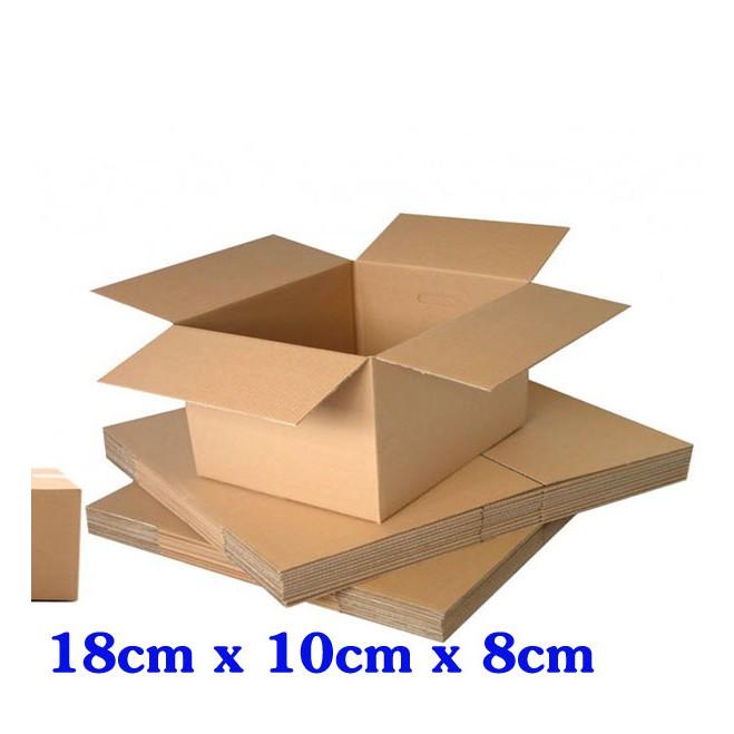 combo 50 thùng carton 3 lớp 18 x 10 x 8