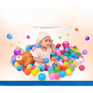 100Pcs/Set Colorful Baby Play Balls Soft Plastic Ocean Balls
