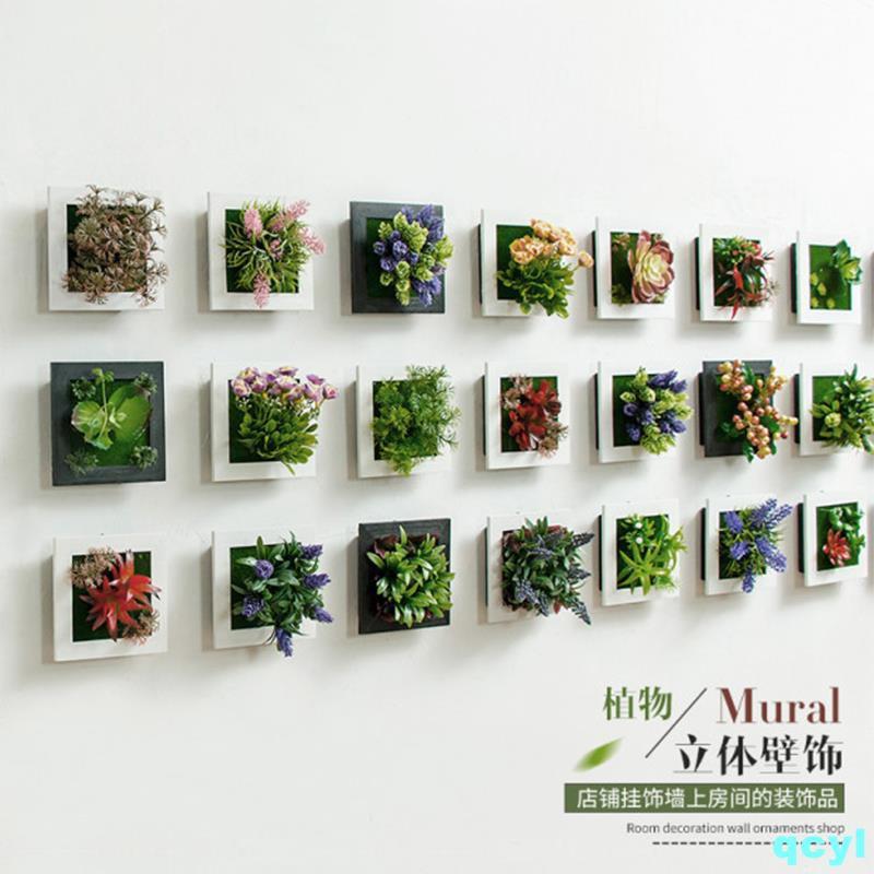 Ins creative kindergarten background wall flower wall pendan