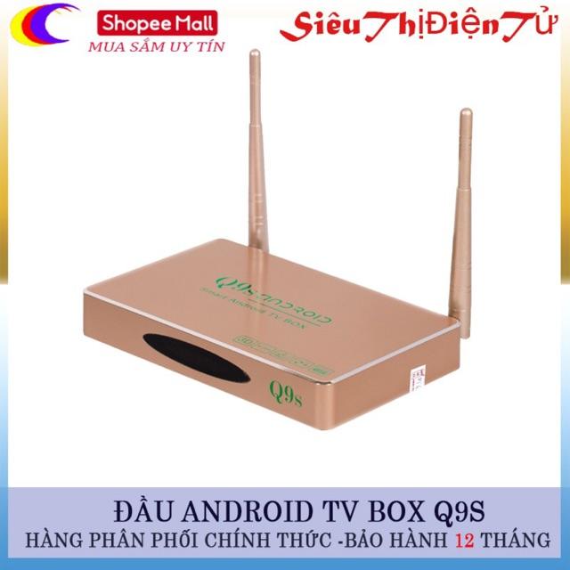 ĐẦU THU ANDROI TV BOX Q9S NEW HÀNG CHUẨN