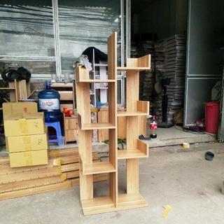 Kệ sách gỗ xương rồng gỗ MDF cao cấp,kệ sách vuông, chống mối mọt l Sâu 20cm, Cao 120cm, Rộng 50cm
